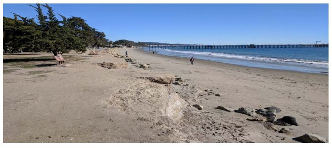 photo of Carpinteria beach