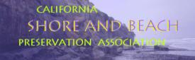 California Shore and Beach Preservation Association logo