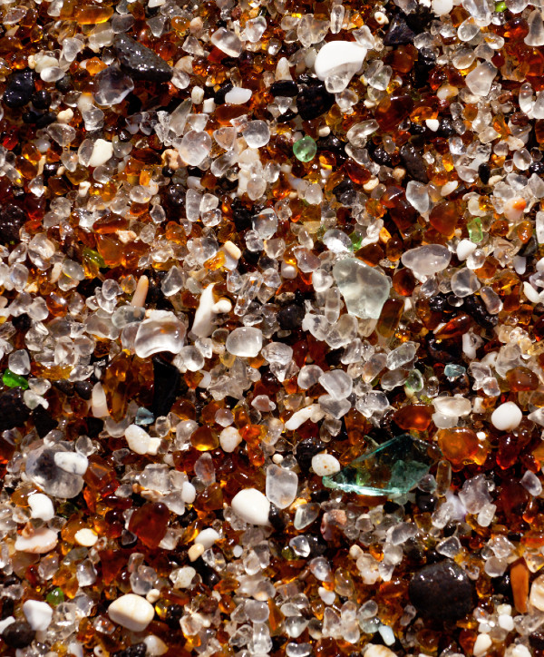 photo of sea glass